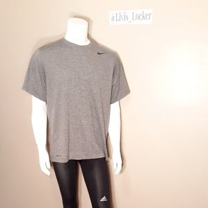 Nike Grey Short Sleeve Tee